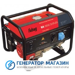 Бензиновый генератор Fubag BS 3500 DUPLEX - фото 1