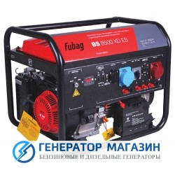 Бензиновый генератор Fubag BS 8500 XD ES - фото 1